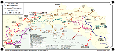 Map History of Railway Network